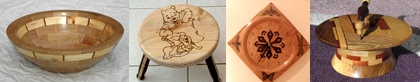 woodturning logo